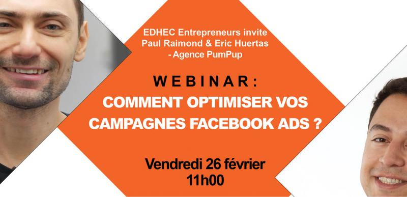 WEBINAR : comment optimiser vos campagnes Facebook Ads