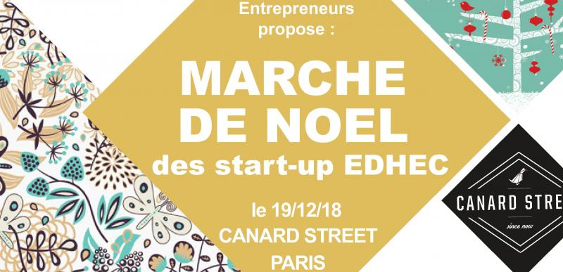 Marché de Noël des start-up EDHEC